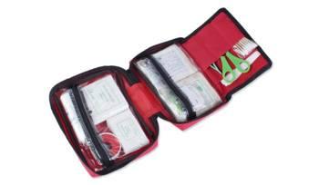 Apteczka pierwszej pomocy - Duża - Czerwona