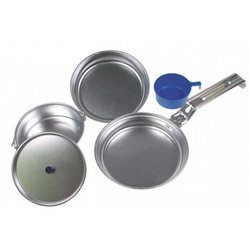 Menażka MFH - aluminiowy zestaw kampingowy
