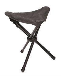 Składane krzesełko trójnożne czarne - Mil-Tec
