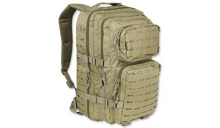 Plecak Large Assault Pack Laser Cut - Coyote Tan - Mil-Tec