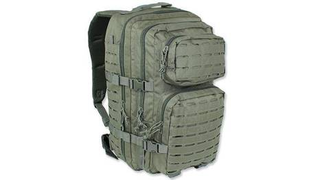 Plecak Large Assault Pack Laser Cut - Zielony OD - Mil-Tec