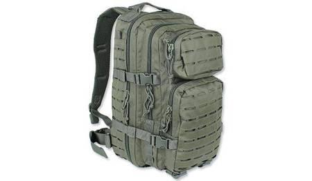 Plecak Small Assault Pack Laser Cut - Zielony OD - Mil-Tec