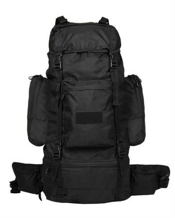 Plecak turystyczny Ranger 75l czarny - Mil-Tec