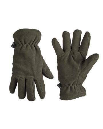 Rękawiczki polarowe - Zielony - Mil-Tec